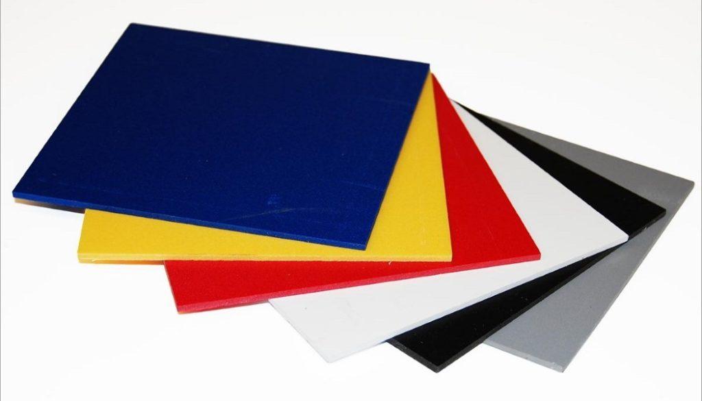 Цветные плиты вспененного ПВХ фото