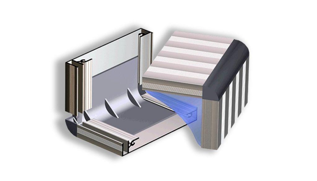Алюминиевые профили для лайтбоксов фото